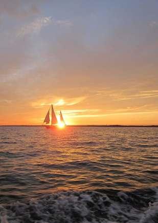 boat in sunset 2011