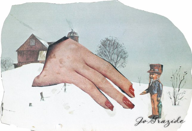 hand of the man mixed media 1978